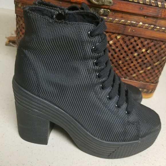 e50e3172f97 Jeffrey Campbell Shoes | Womens Jc Play Asif Black Ankle Boots ...